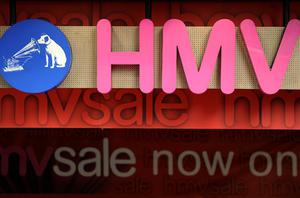 HMV plunged 18pc yesterday on the back of a profit warning. Photo: Getty Images