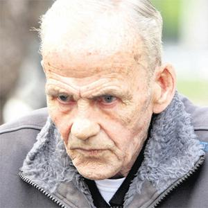 Patrick O'Brien outside court where he was sentenced to 12 years with nine suspended