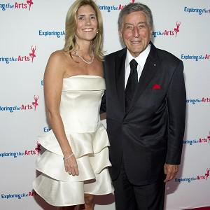 Tony Bennett and his wife Susan Crow attend Tony's 85th birthday gala in New York