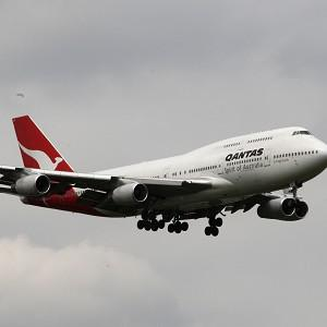 A Qantas Boeing 747 plane was grounded after rats were found in a compartment holding medical equipment