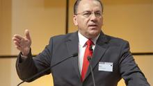 Bundesbank president and ECB council member Axel Weber. Photo: Bloomberg News