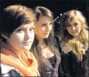 Wyvern Lingo is composed of Caoimhe Barry on percussion and vocals, Saoirse Duane on guitar and vocals and Karen Cowley - piano and vocals and have just released their debut EP in Dublin.