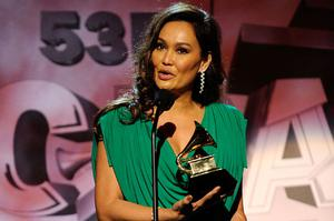 Tia Carrere cannot win any more Hawaiian music Grammys as the category has been abolished. Photo: Getty Images