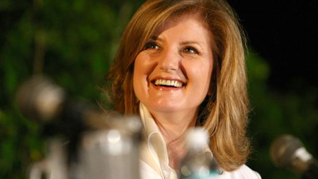 Arianna Huffington will be named editor-in-chief of enlarged group. Photo: Getty Images