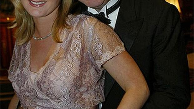 Gayle with her husband Sean Dunne