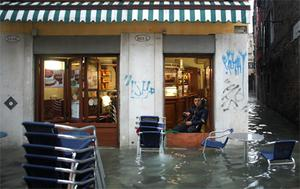 It was the fourth time since 2000 that Venice had been hit by record high water, and the city's environment officer said the latest flooding was the result of global climate change.