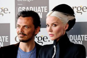 Designer Matthew Williamson and Daphne Guinness