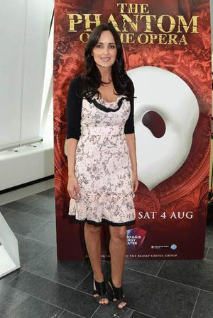 Andrea Roche at the opening night of The Phantom of the Opera at The Grand Canal Theatre, Dublin, Tuesday 10 July.