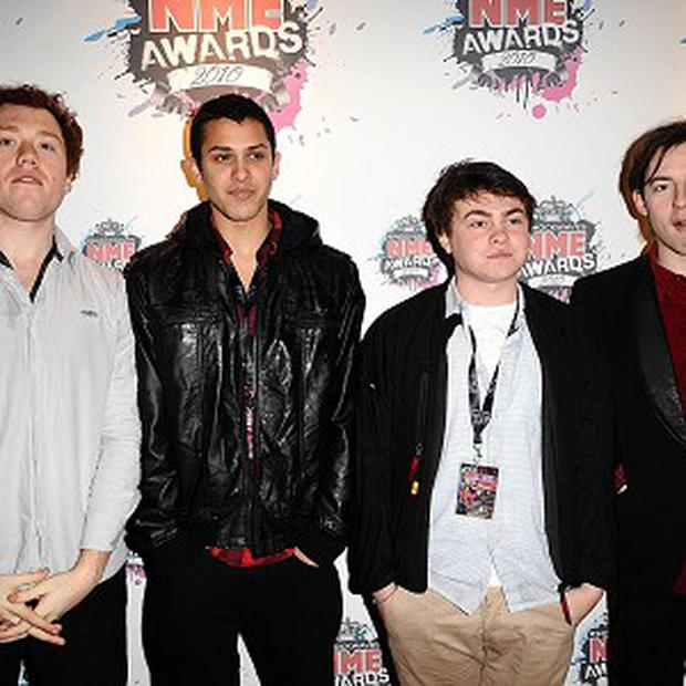 Bombay Bicycle Club were named best new band at the 2010 Shockwaves NME Awards