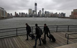 More than 60 million Americans are braced for the impact of Hurricane Sandy after forecasters said it could be the biggest storm ever to hit the US mainland. Photo: Reuters