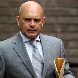 Former England and Chelsea player Ray Wilkins, 55, arrives at North Surrey Magistrates' Court in Staines to face a charge of drink driving. Photo: PA