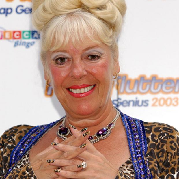 Julie Goodyear who is to return to her role as brassy Bet Lynch once more in a Coronation Street musical. Photo: PA