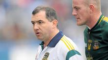 Meath manager Seamus McEnaney (left) insists he 'made every effort' to try and keep Joe Sheridan at home for the rest of the 2012 season