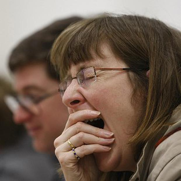 Experts say contagious yawning is more likely to occur among friends than strangers