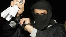 Algerian national Ali Charafe Damache, 44, arrives at Waterford District Court in March 2010