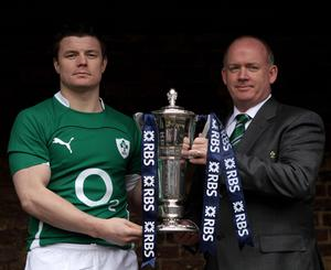 Brian O'Driscoll and Irish coach Declan Kidney will be hoping to make it two Six Nations titles in a row this year. Photo: Getty Images