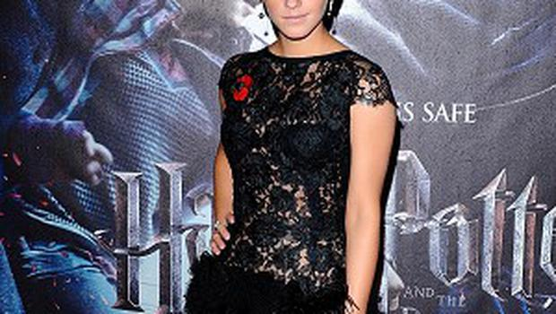 Harry Potter star Emma Watson topped the Glamour list of the world's best-dressed women