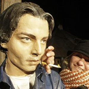 A statue of Johnny Depp has been unveiled in Serbia