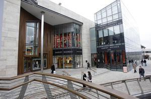 Dundrum shopping centre in South Dublin. File picture