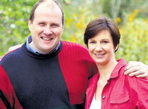 Mr Yates and his wife, Deirdre
