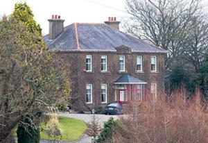 the family home in Enniscorthy, Co Wexford