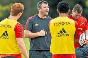 Anthony Foley will take over running the Ireland defence for the November internationals