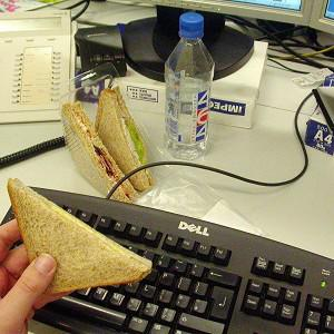 As many as 58 per cent of people surveyed take 30 minutes or less for their lunch