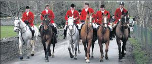 A massive rally in Trim Castle Hotel, organised by the Hunting Association of Ireland in support of the Ward Union Hunt, was attended by over 1,500 supporters.