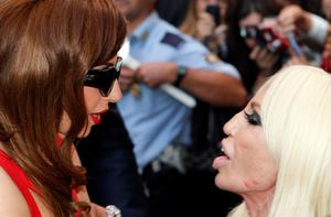 Lady Gaga and Donatella have bonded in Milan for fashion week