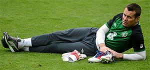 Shay Given during squad training ahead of Ireland's opener against Croatia