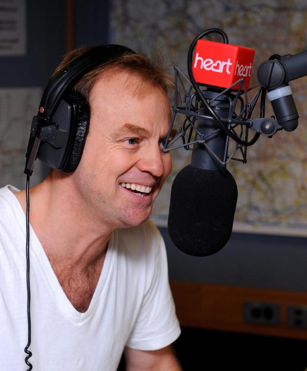 Heart presenter Jason Donovan in the studio at the Heart radio 'Have a Heart' appeal at Global Radio in Leicester Square, London. PRESS ASSOCIATION Photo. Picture date: Friday March 9, 2012. Photo credit should read: Dominic Lipinski/PA Wire
