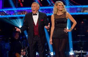 Strictly presenters Bruce Forsyth and Tess Daly