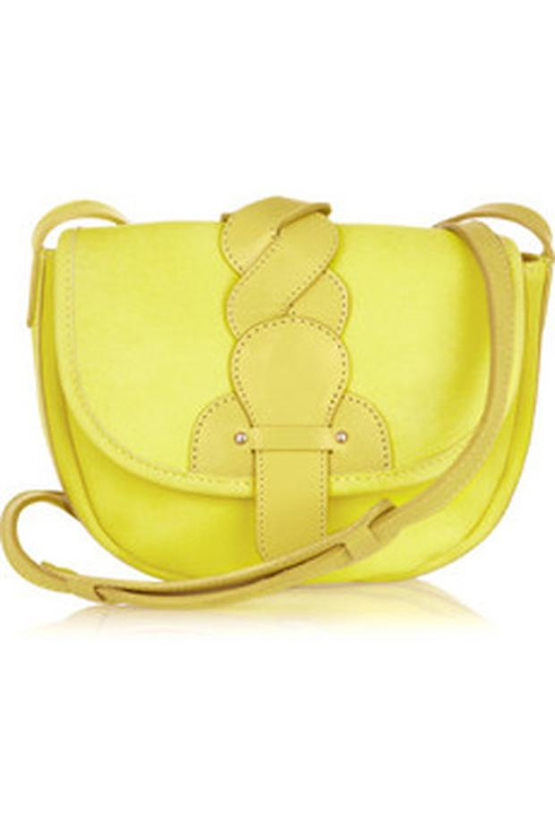 See by Chloé Twirl leather shoulder bag €225 net-a-porter.com