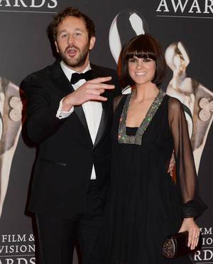 Chris O'Dowd and Dawn at the IFTA's in Dublin