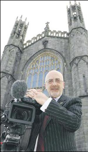 Gerry Duffy, who offers a funeral video service he feels helps with the grieving process.