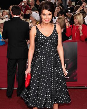 Alison King arrives for the British Soap Awards at BBC Television Centre on May 9, 2009 in London, England Photo: Getty Images