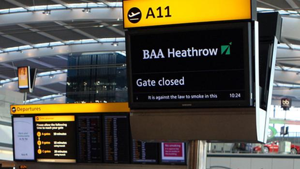 Heathrow numbers rose by 4.6pc to 5.05 million. Photo: PA