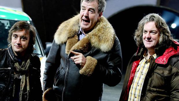 The three amigos Richard Hammond, Jeremy Clarkson, and James May, who have landed themselves in hot water