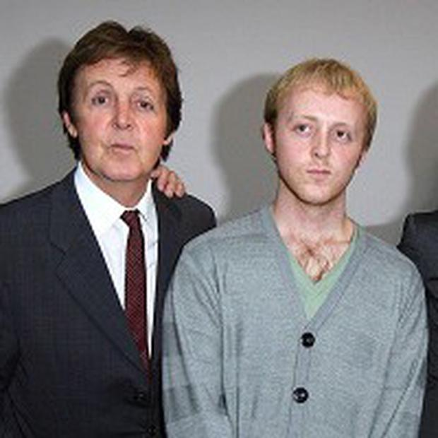 James McCartney, the son of Paul McCartney, is going on tour
