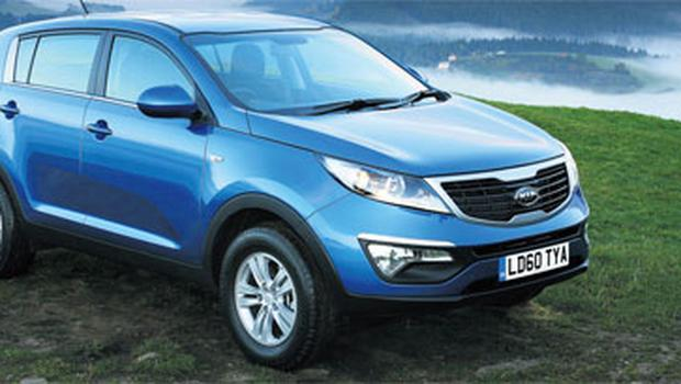 Fresh appeal: The Sportage's new look is a real winner