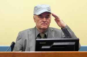 Mladic is demanding the power to choose his own defence team. Photo: Getty Images