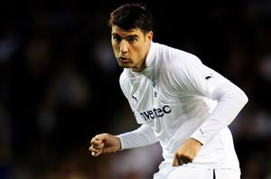 Vedran Corluka in action for Spurs. Photo: Getty Images