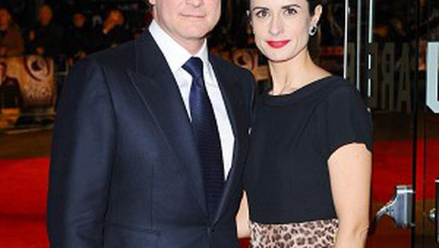Colin Firth dedicated his Hollywood Walk of Fame star to wife Livia