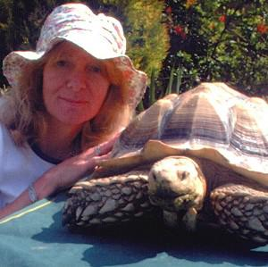 Joy Bloor, who owns a tortoise sanctuary, defied council officials who told her she must get a zoo licence (Tortoise Garden)
