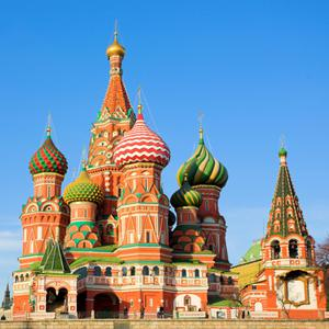 St. Basils Cathedral on Red square