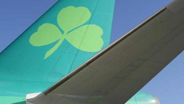 Aer Lingus: traffic down 25pc in December. Photo: Getty Images