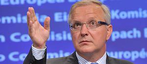 European Union Economic and Monetary Affairs Commissioner Olli Rehn. Photo: Getty Images
