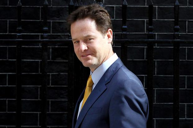 Nick Clegg: approval. Photo: Getty Images