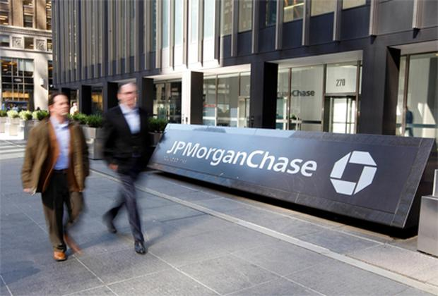 JPMorgan Chase: released its glowing figures early. Photo: Reuters