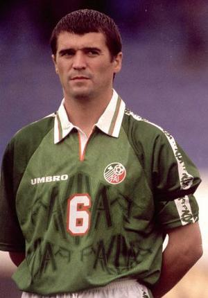 Roy Keane wore a black armband in 1997 to mark Princess Diana's death.